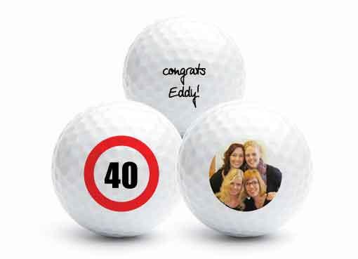 personalised golf balls