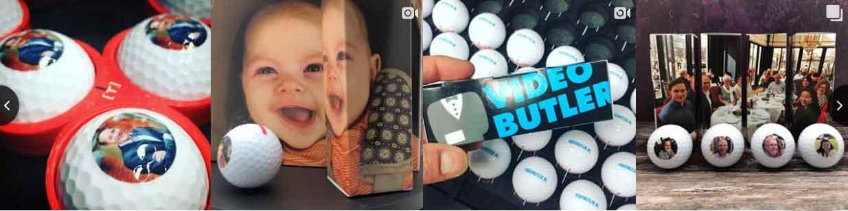 quality print personalised golf balls