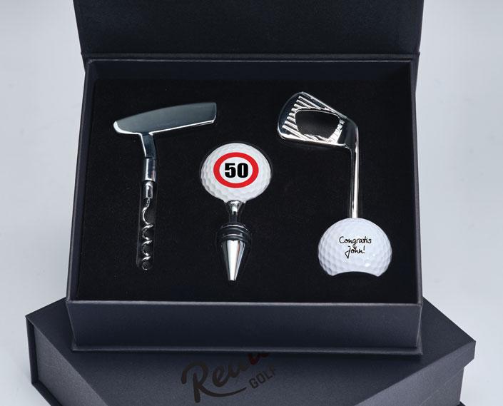 Golf gift box bottle openers