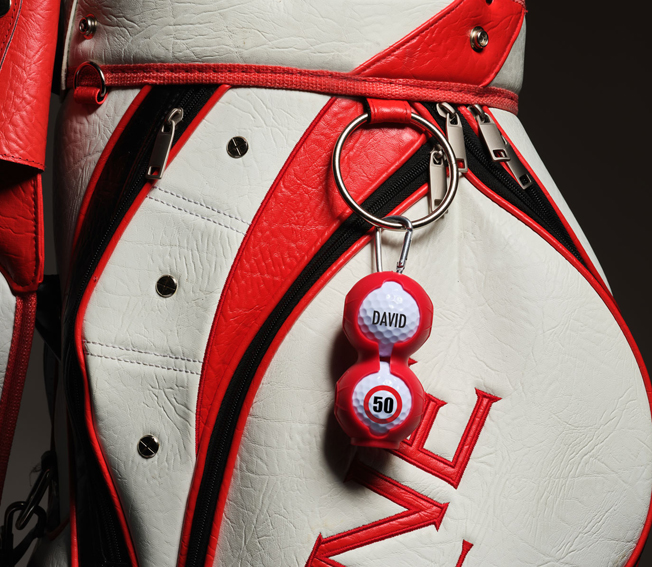 golf gift golf ball hanger